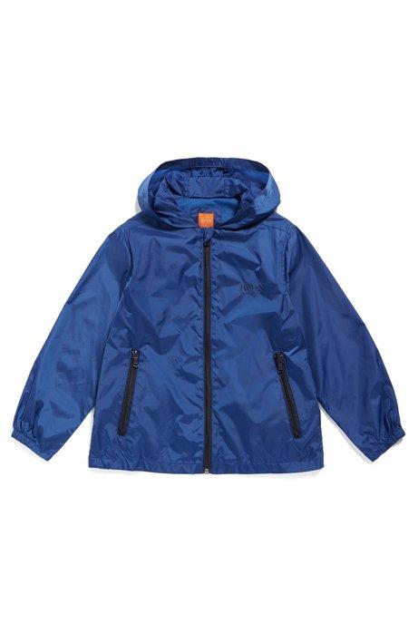 Veste Regular Fit pour enfant en tissu indéchirable, Bleu