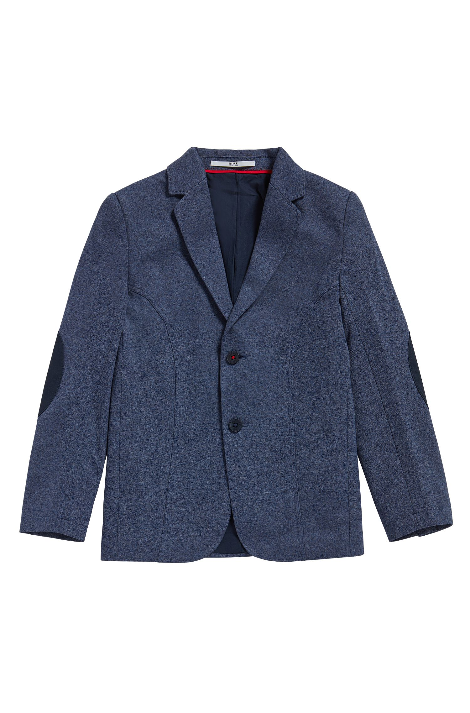 Kids' regular-fit jacket in a cotton blend