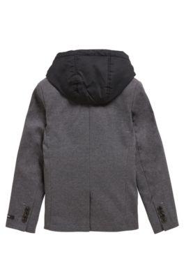 c37e99f75e7 BOSS - Blazer para niño con chaleco desmontable en el interior