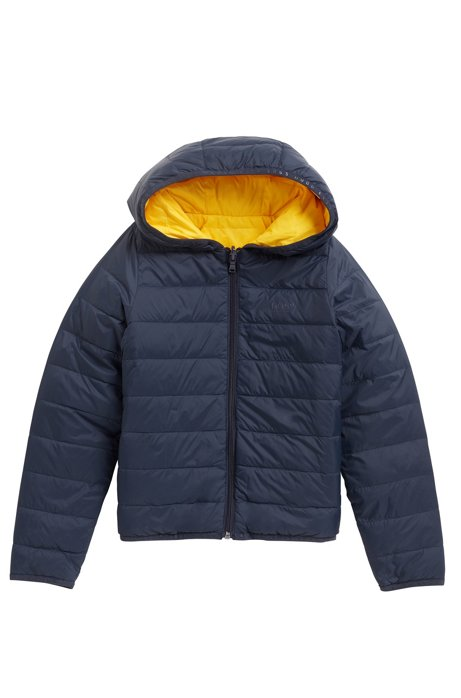 9670c9a96 BOSS - Kids  reversible down jacket with hood