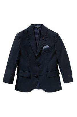 HUGO BOSS Veste de costume pour enfant en laine unie avec pochette intégrée : ? J26U07 ? Hroy0p