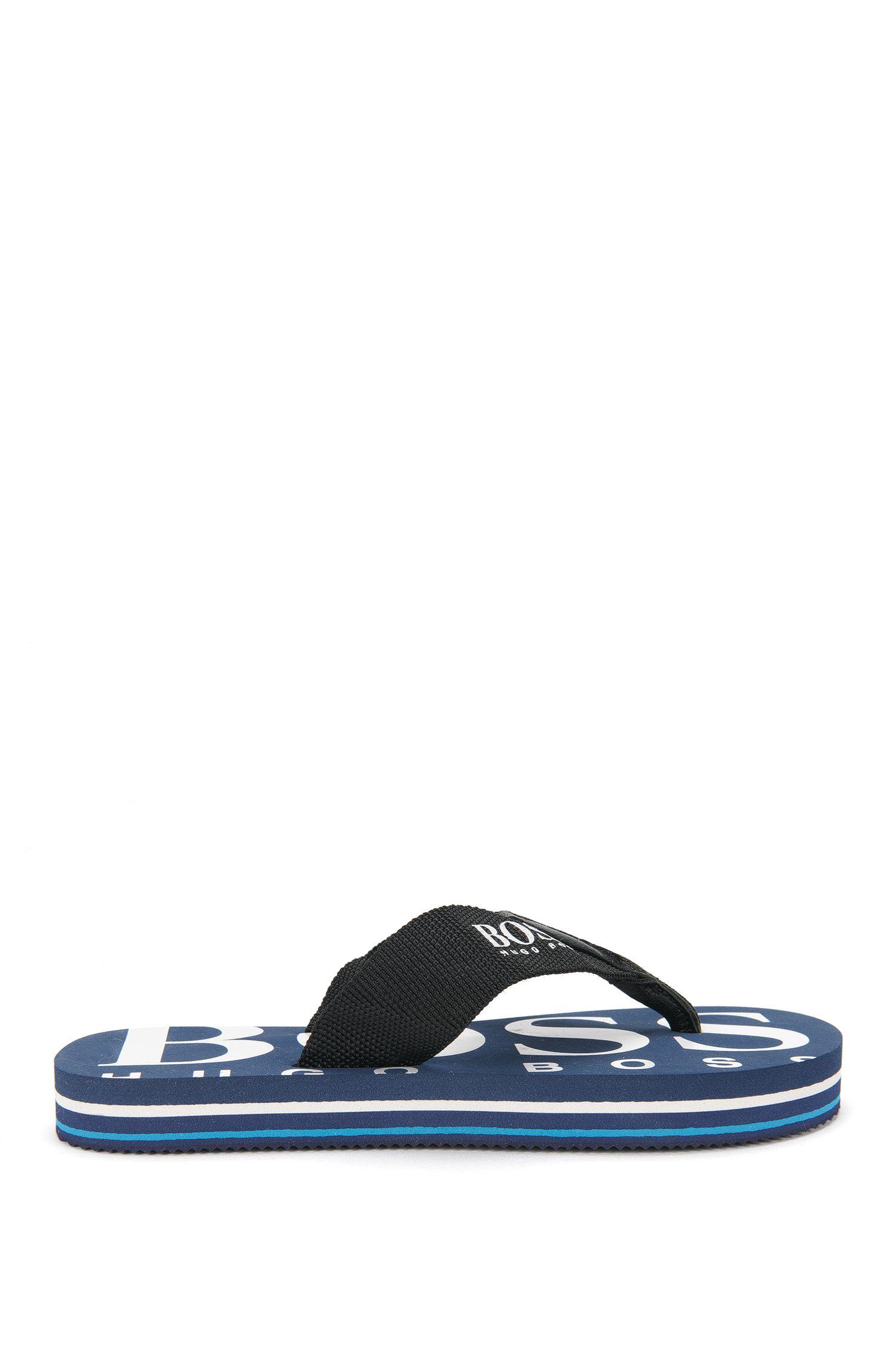 Sandalias para niño con detalles en piel: 'J29110'