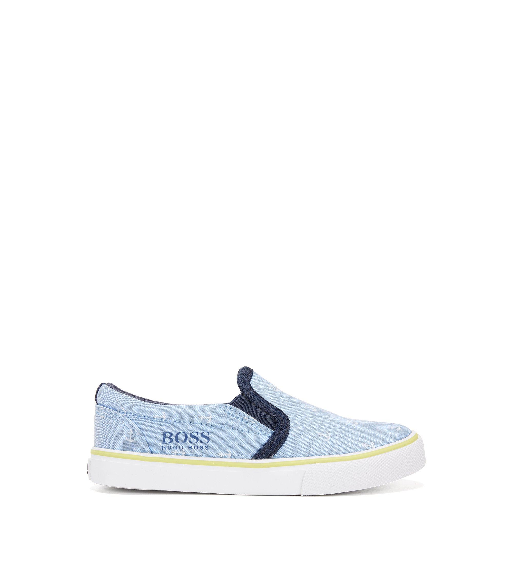 Chaussures à enfiler en coton imprimé pour enfant, Fantaisie
