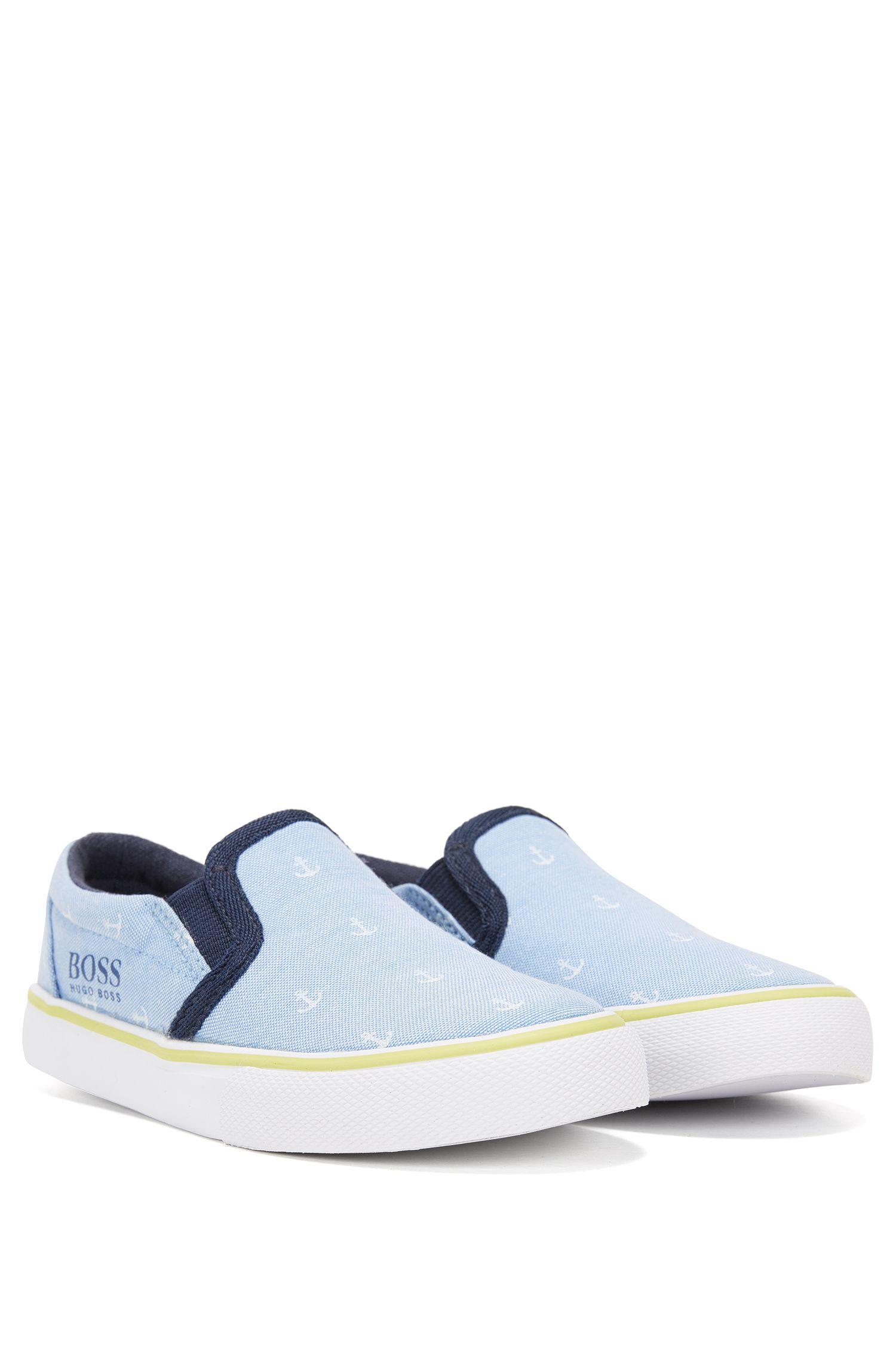 Chaussures à enfiler en coton imprimé pour enfant
