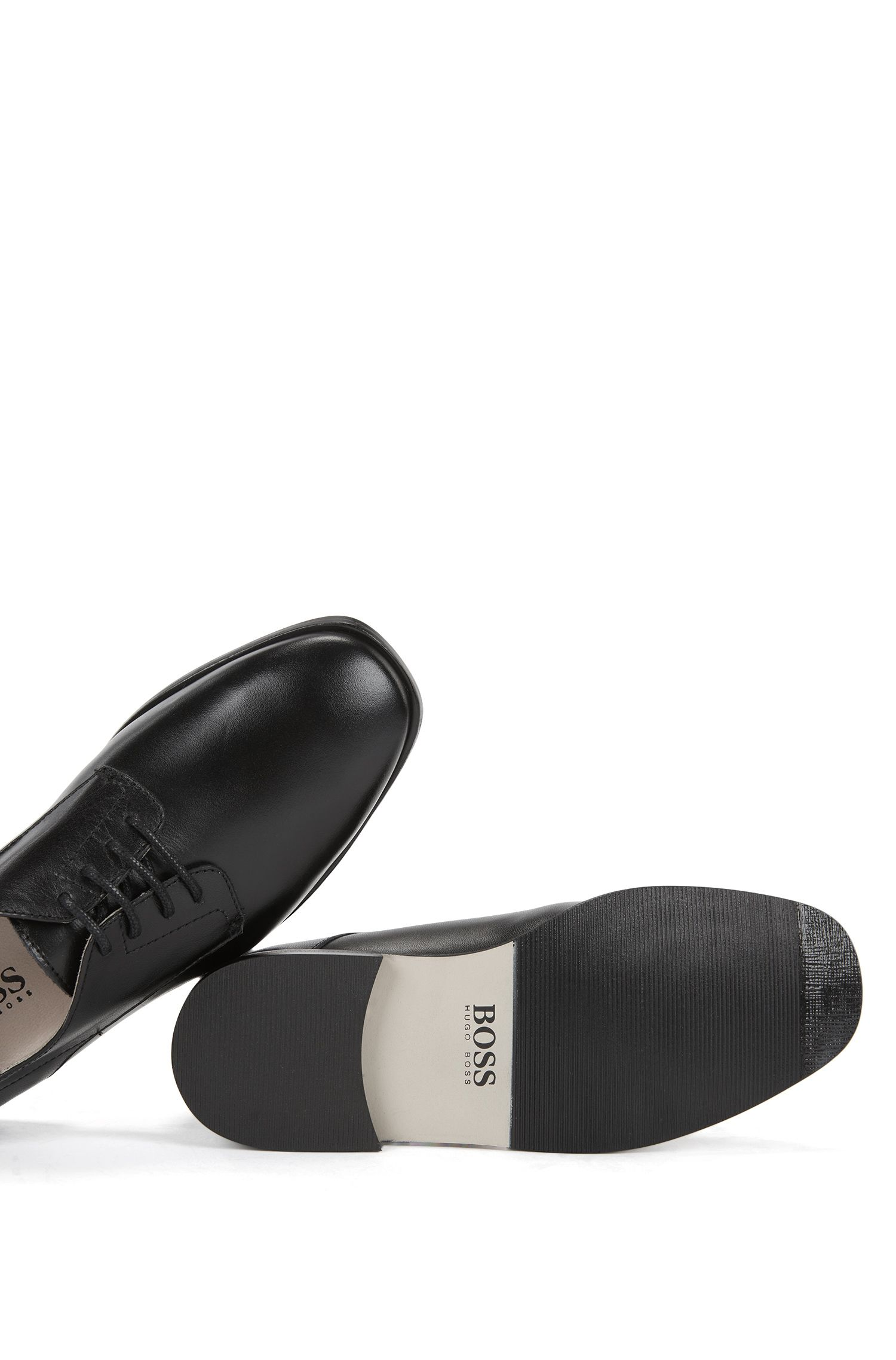 Kids' Derby shoes in smooth leather
