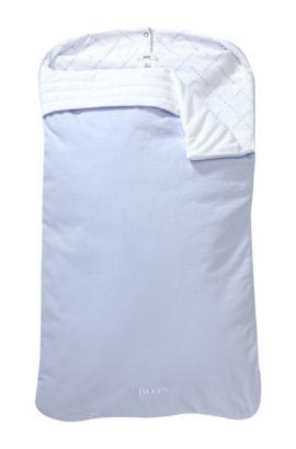 Chancelière«J90088» en coton rembourré, Bleu vif