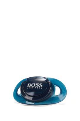 Ciuccio con tettarella in silicone: 'J90Z03', Blu scuro