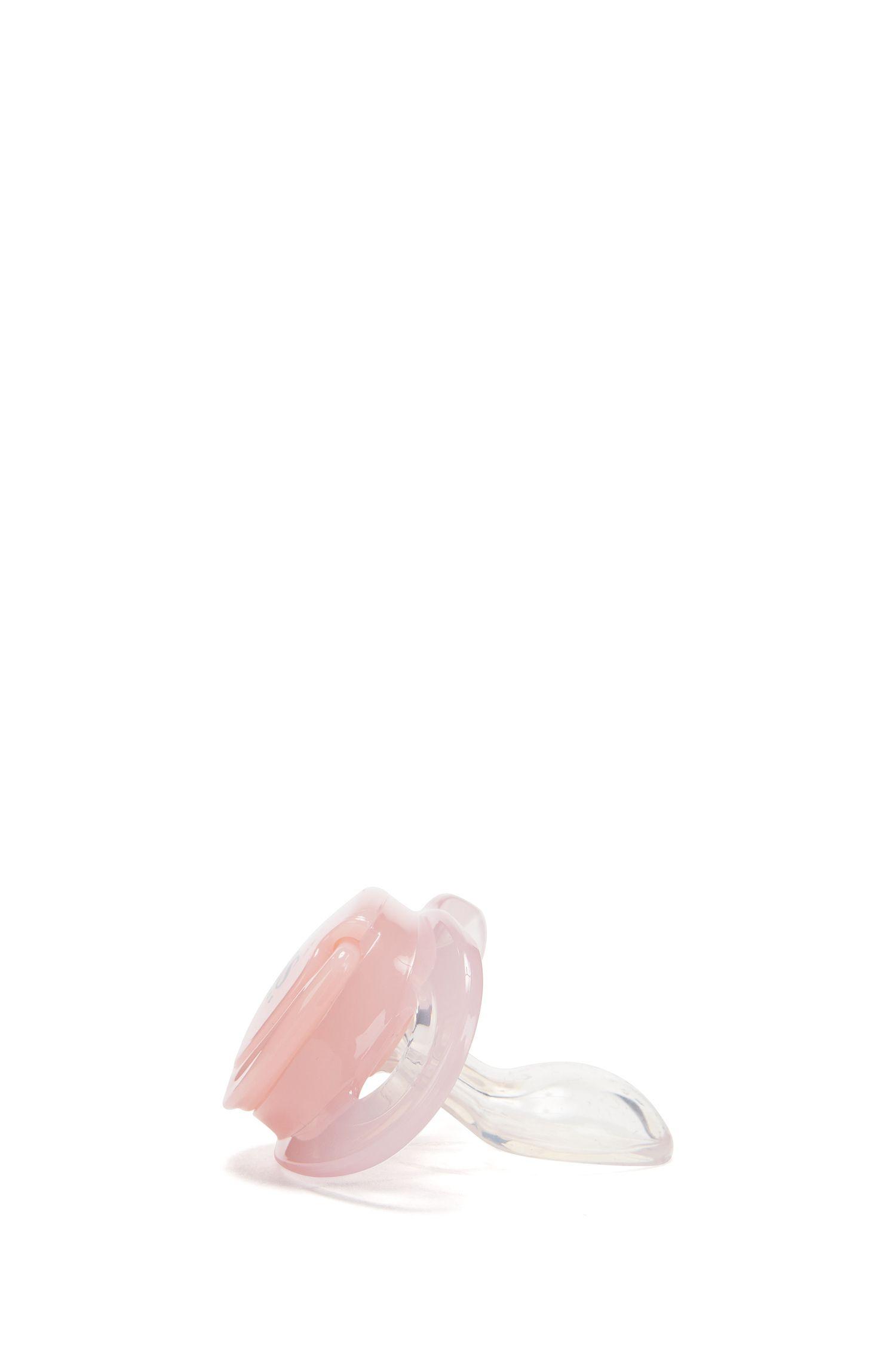Ciuccio da neonato con tettarella in silicone, Rosa chiaro