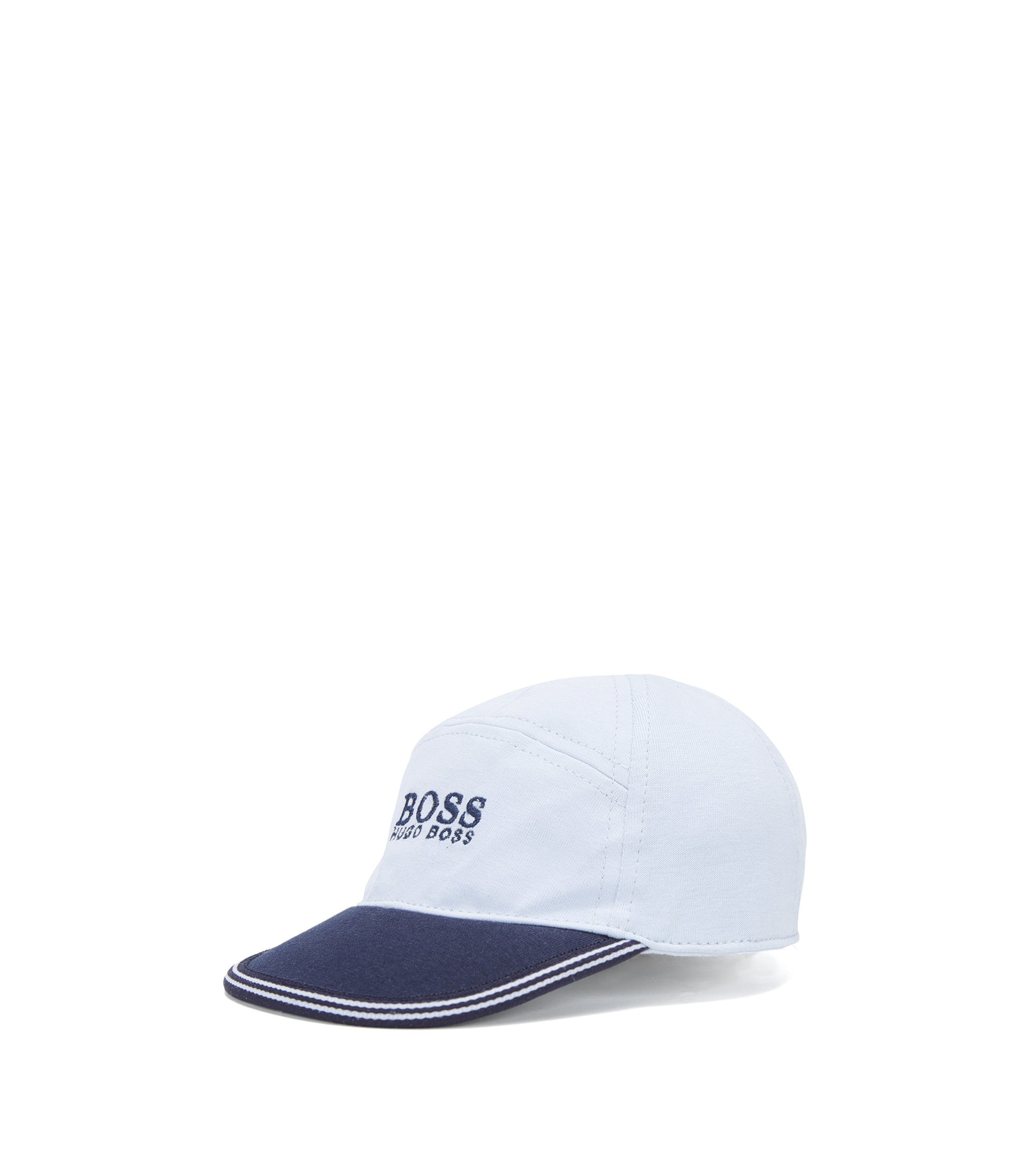 Baby baseball cap in cotton jersey, Light Blue
