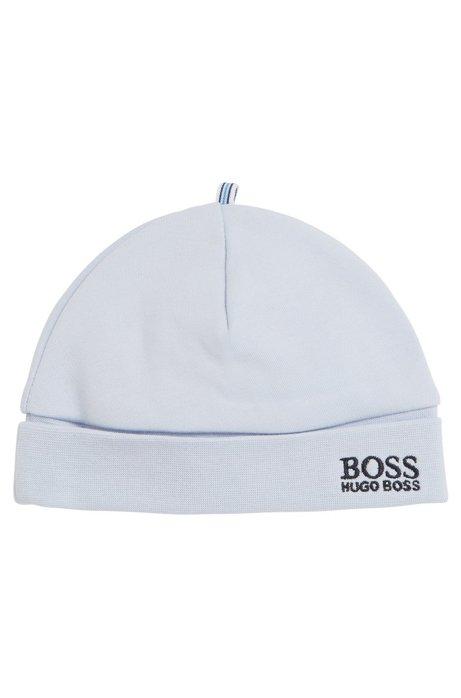 BOSS - Baby hat in interlock cotton 6af9a5bbb