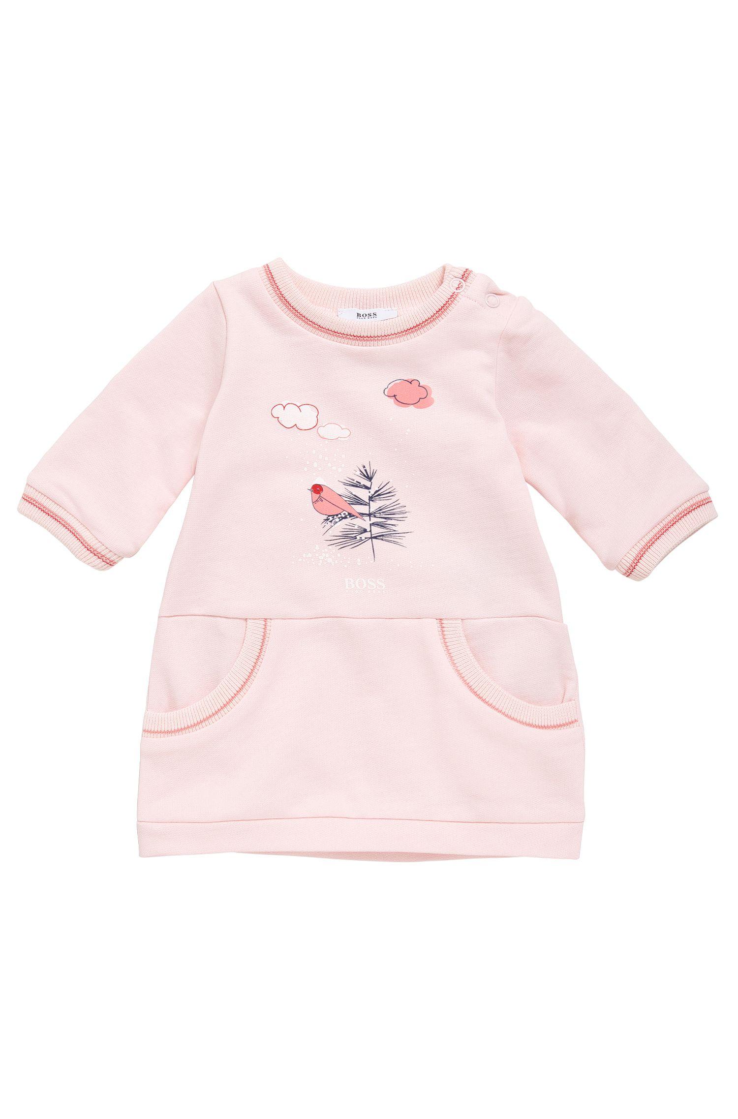 Robe pour bébé en coton à imprimé: «J92028»