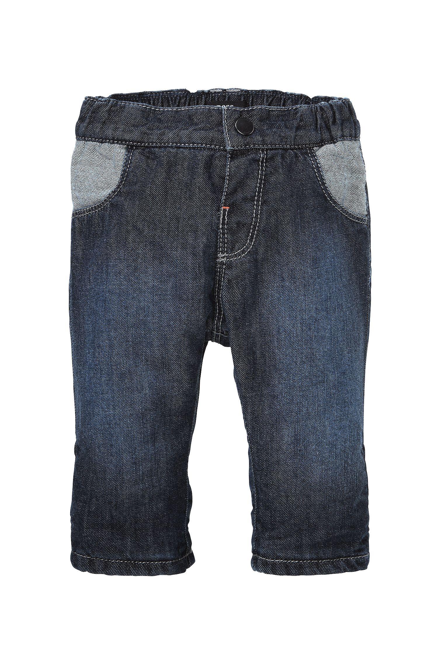 Jeans pour enfant «J94097» en coton