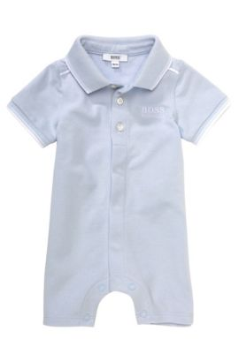 Kids-Body ´J94106` aus Baumwoll-Mix, Hellblau