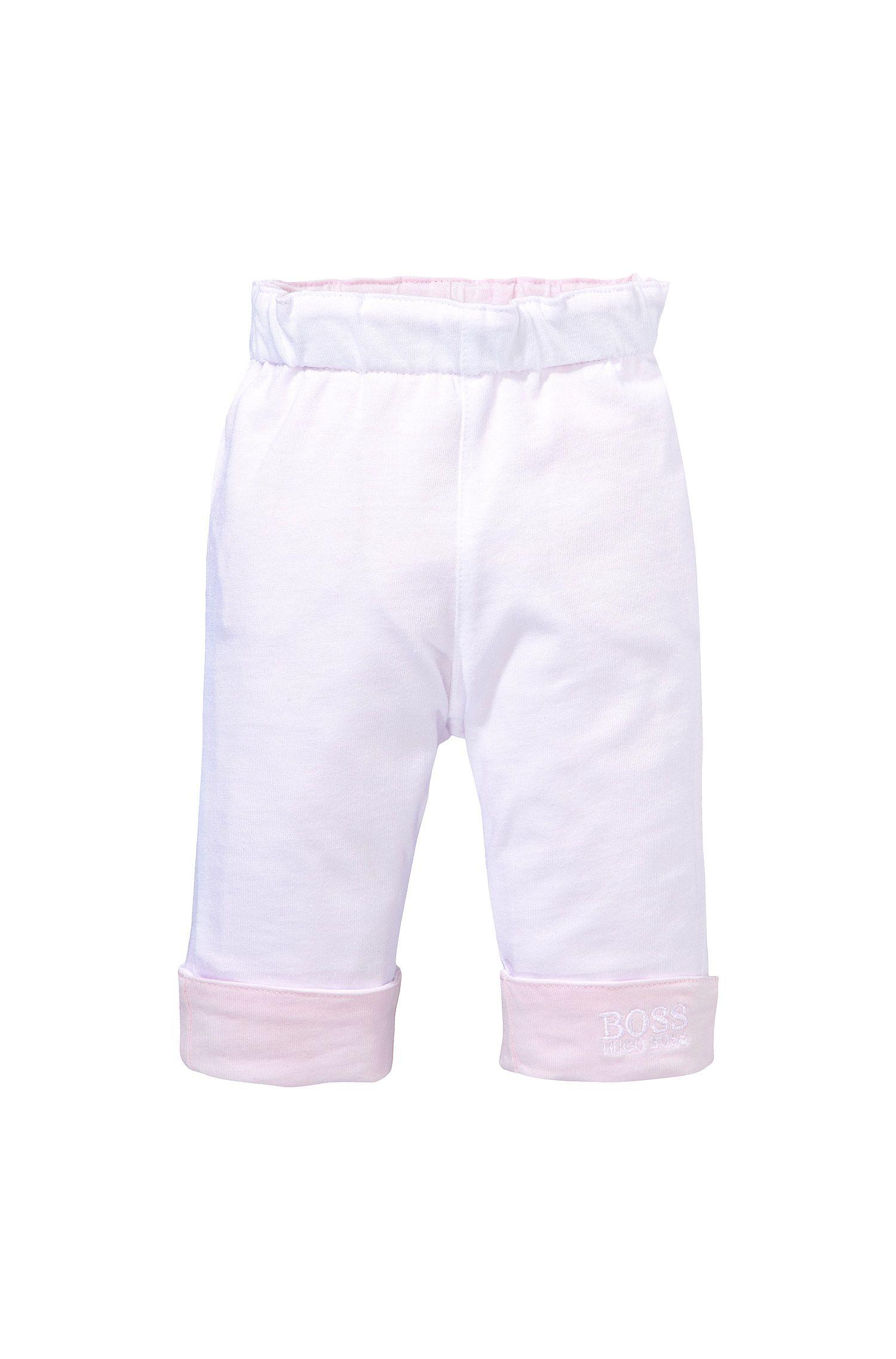 Tweezijdig te dragen kinderbroek 'J94114' van katoen