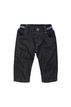 Jeans da neonato regular fit in cotone elasticizzato: 'J94166', A disegni