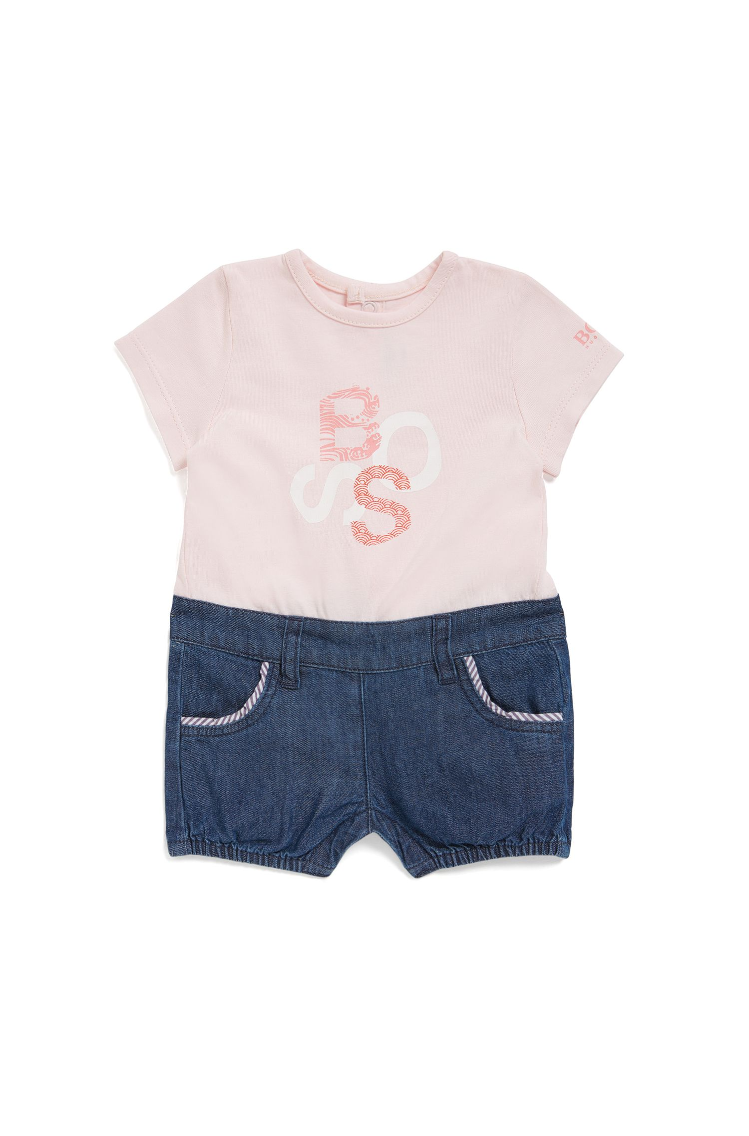 Baby-overall in tweedelige look: 'J94185'
