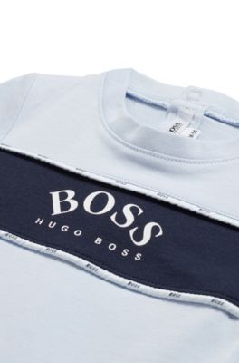 HUGO BOSS Baby/'s J98233 V41 Babygrow Set Bleu Foncé Body Combi