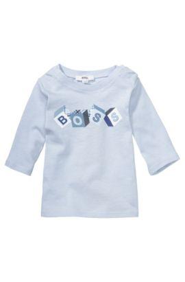 Kids-Sweatshirt ´J95133` aus Baumwolle, Hellblau