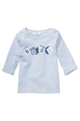 Kindersweatshirt 'J95133' van katoen, Lichtblauw