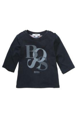 Sweat pour enfant «J95134» en coton, Bleu foncé