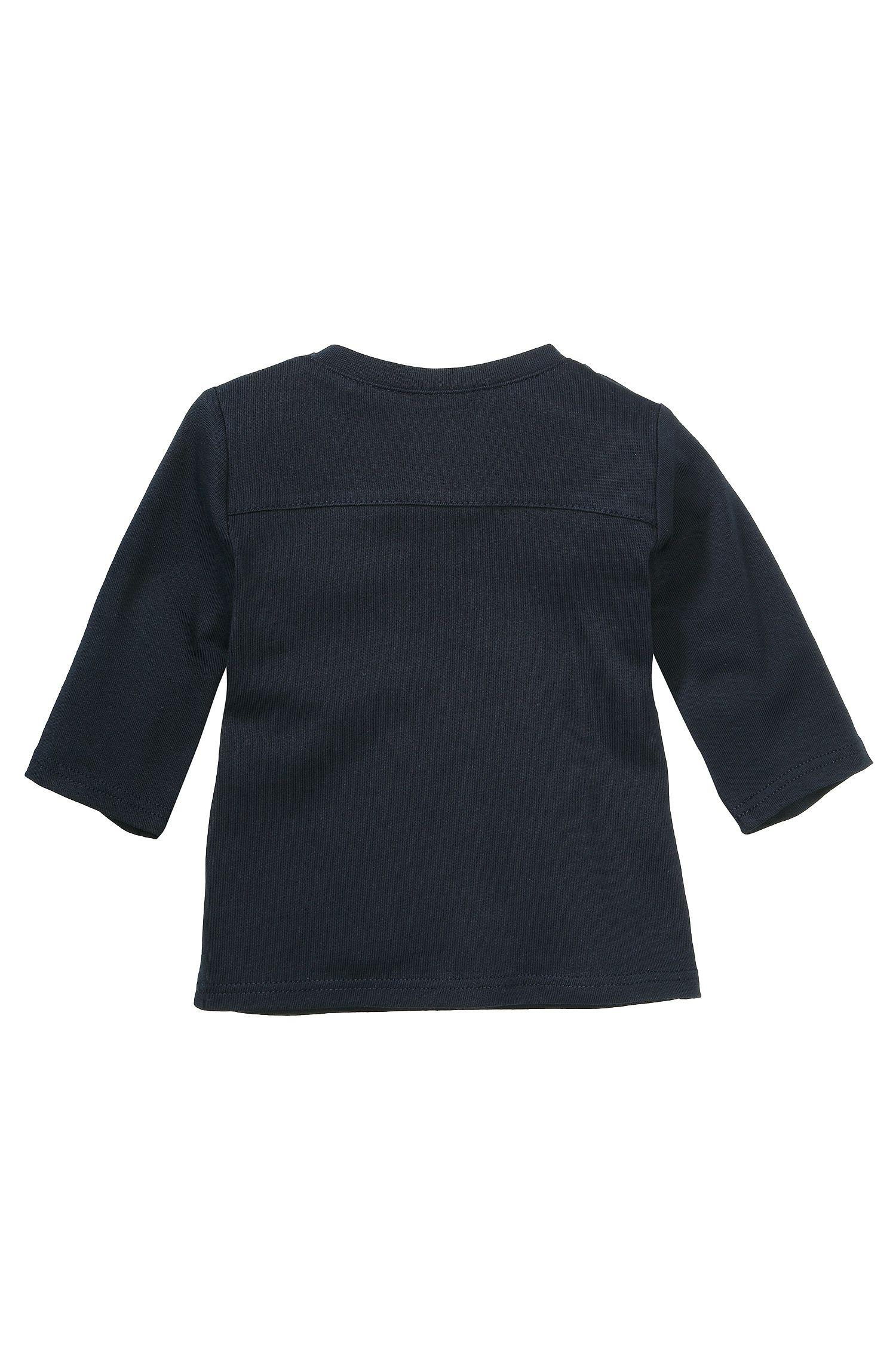 Kindersweatshirt 'J95134' van katoen, Donkerblauw