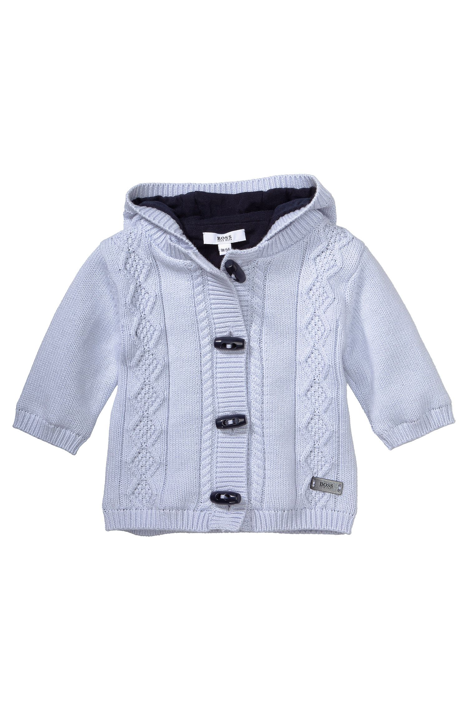 Kids-Strickjacke ´J95137` aus Baumwoll-Mix