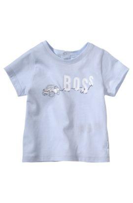Kids-T-Shirt ´J95146` aus Baumwolle, Hellblau
