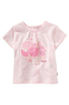 Baby-T-shirt 'J95152' van katoen, Lichtroze
