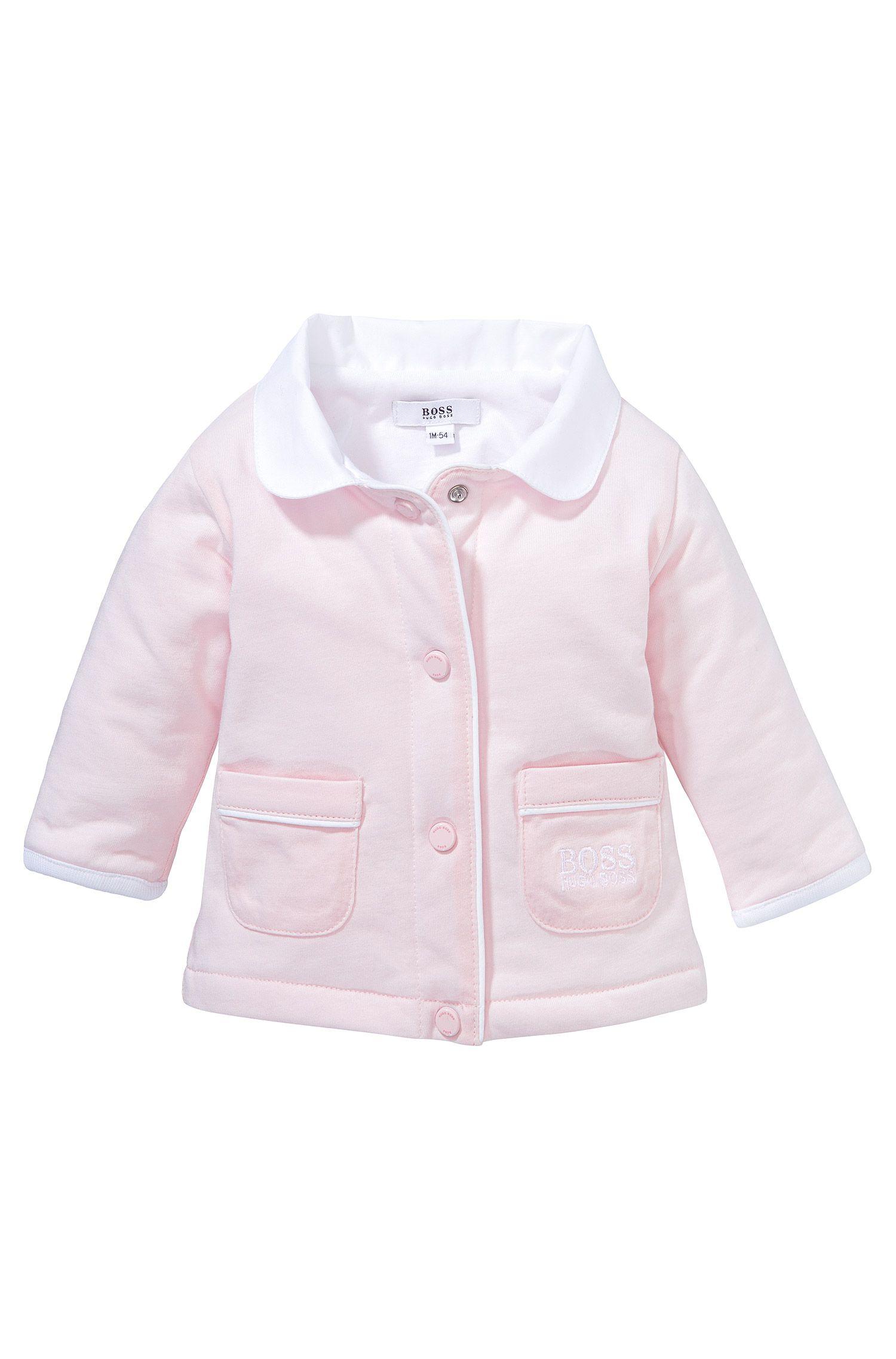 Blouson sweat pour enfant «J95153» en coton