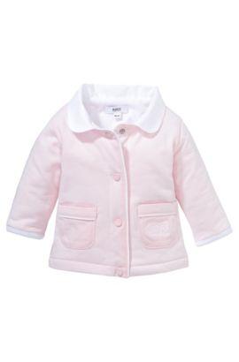 Blouson sweat pour enfant «J95153» en coton, Rose clair