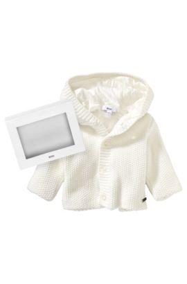 Baby-Jacke ´J95154` aus Baumwolle, Natur
