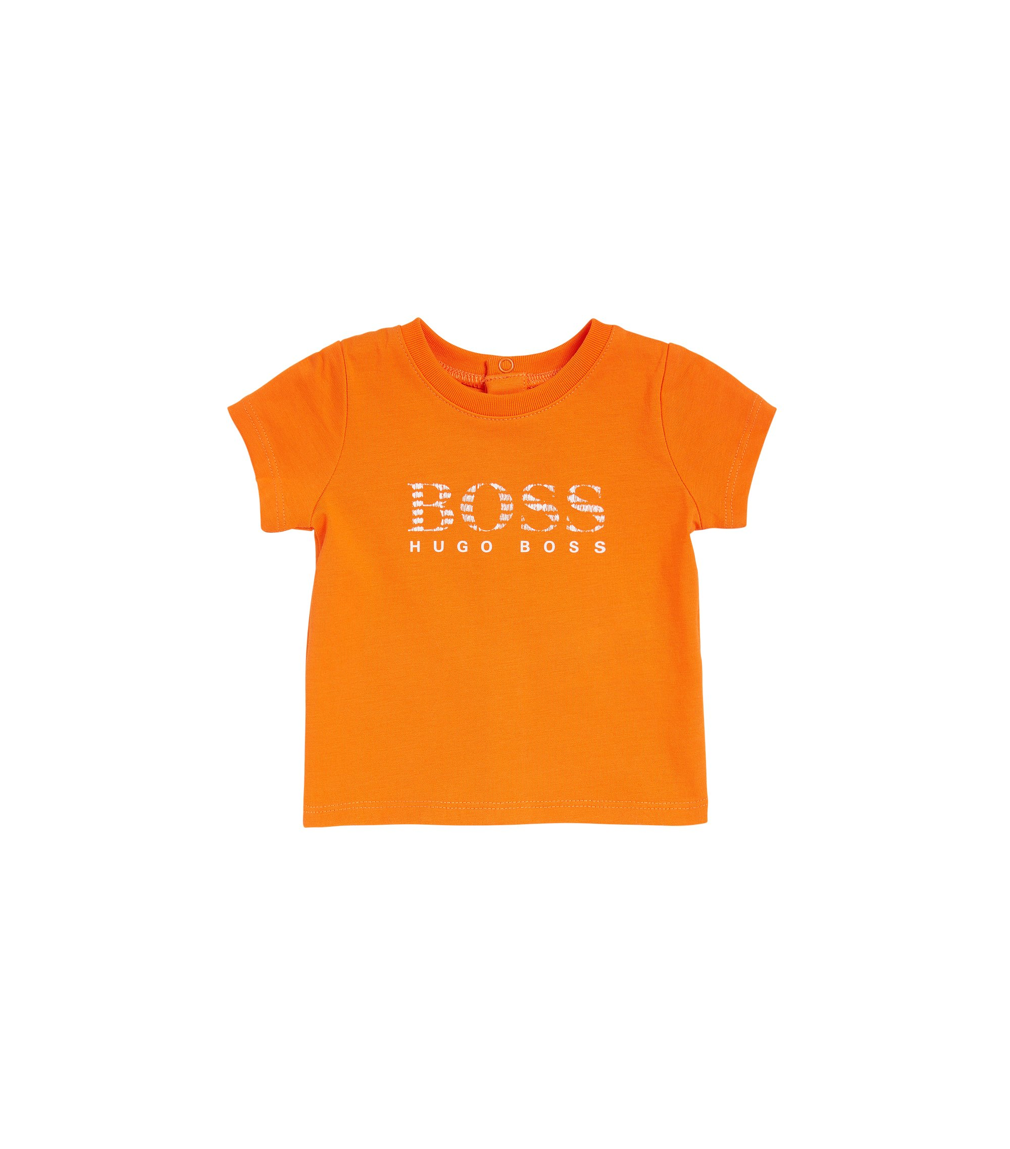 T-shirt pour bébé Regular Fit en coton, Orange
