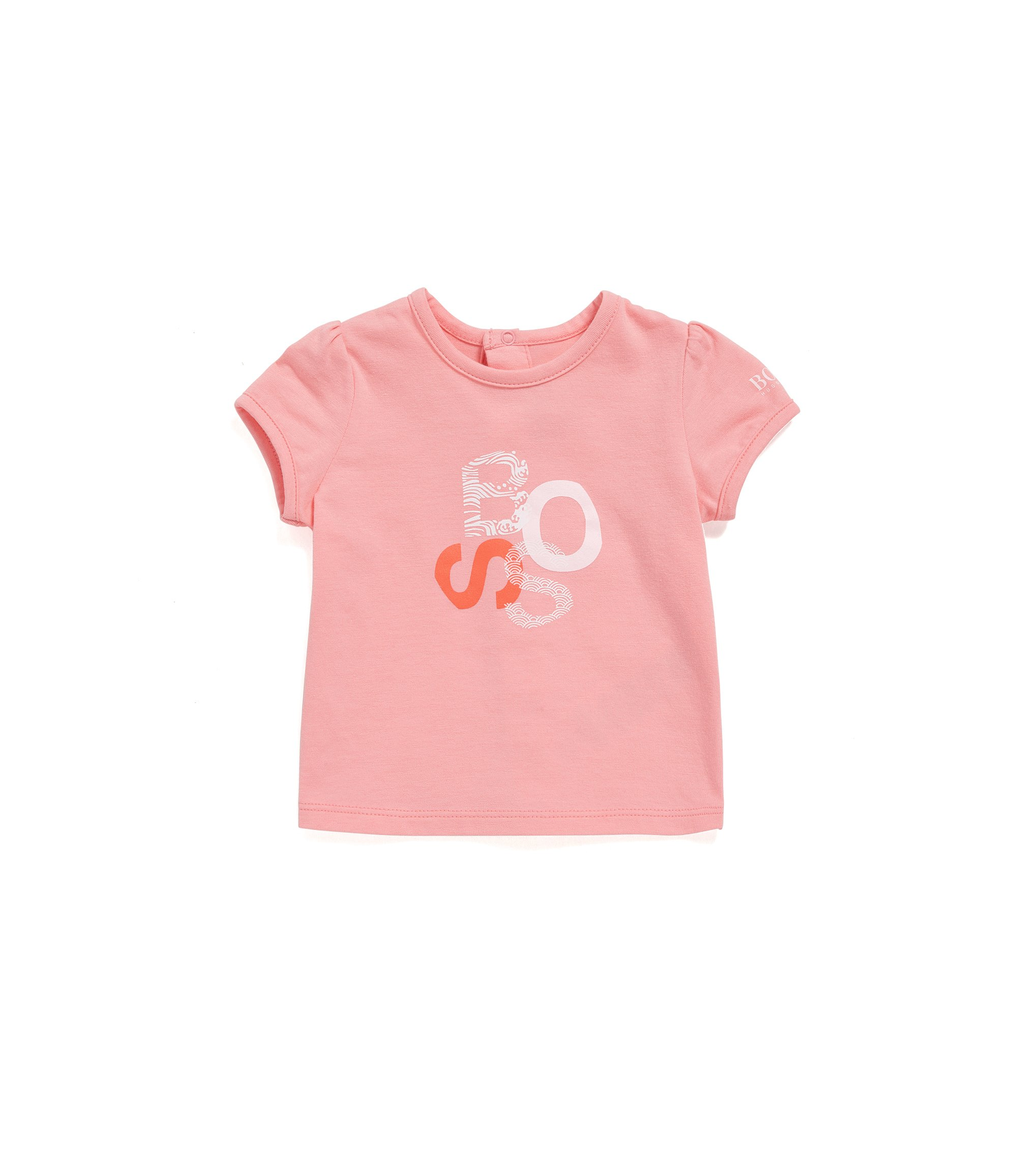 Regular-fit baby-T-shirt van single jersey, Lichtroze