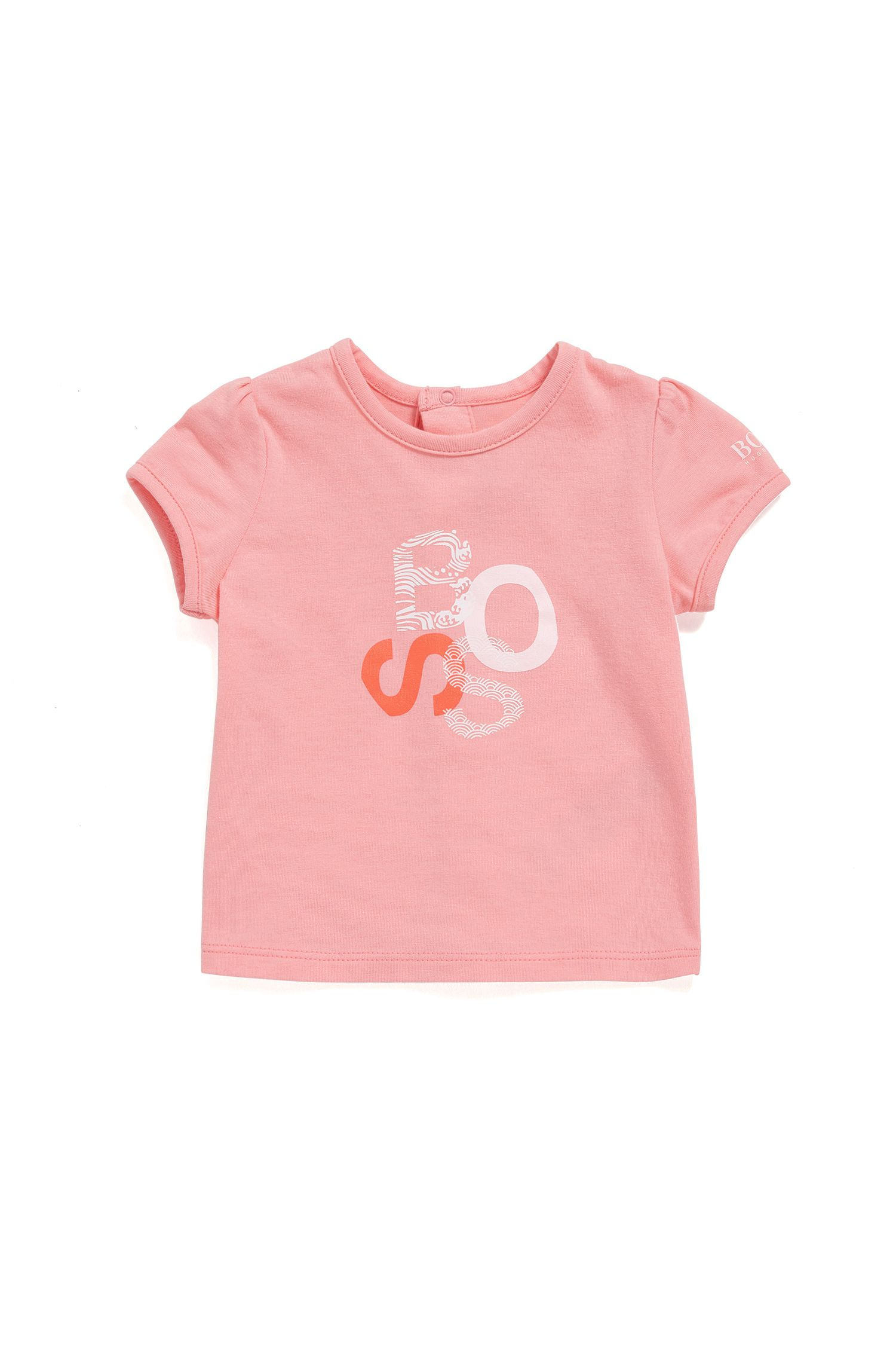Regular-fit baby-T-shirt van single jersey