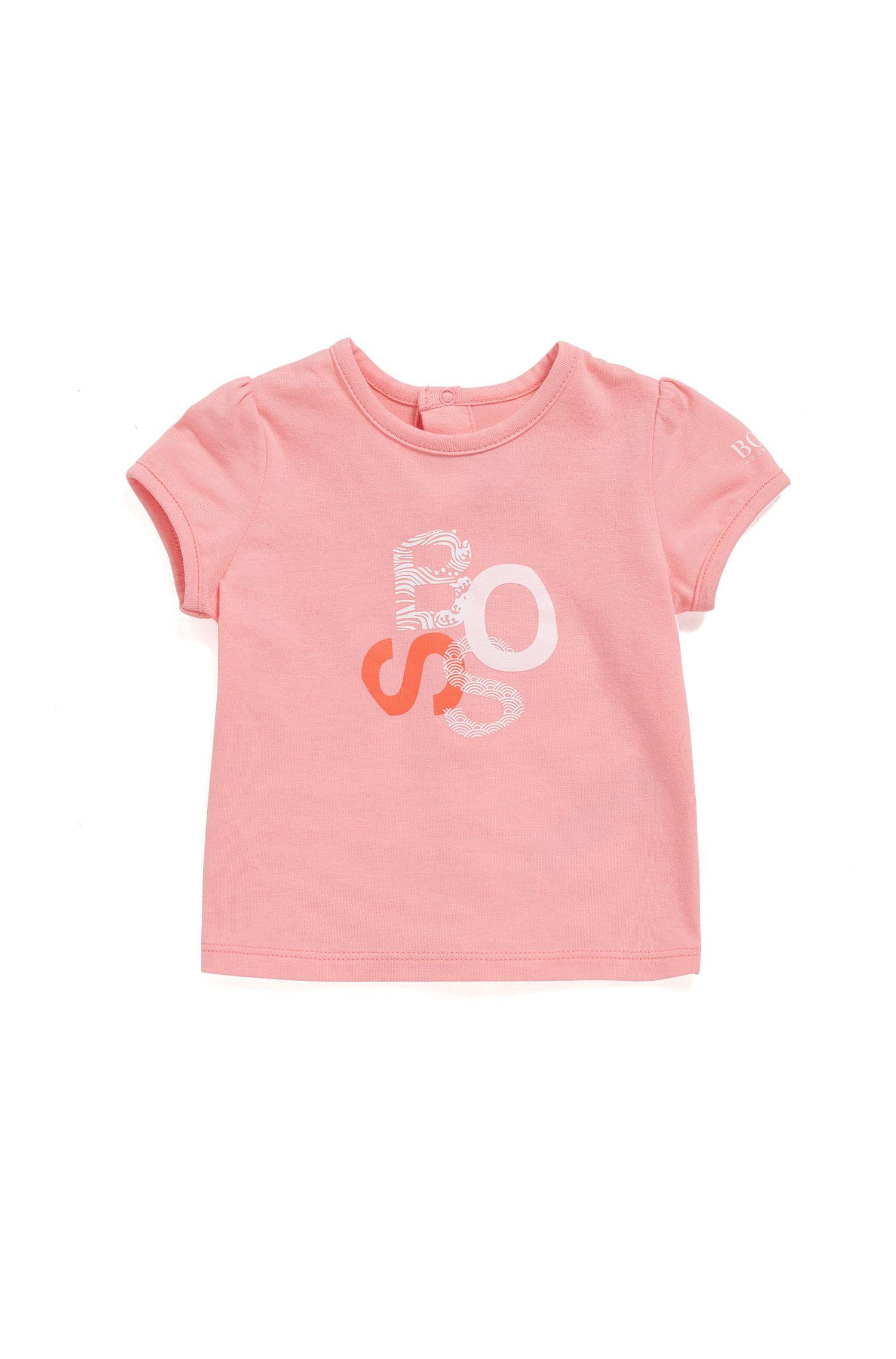 Regular-fit baby-T-shirt van single jersey