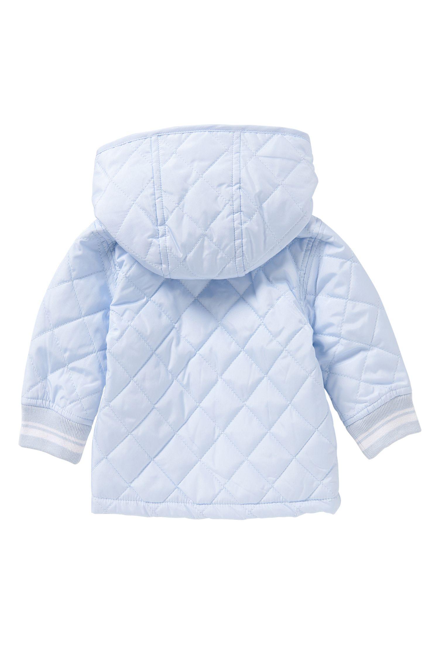 Blouson doudoune pour bébé avec capuche amovible: «J96056»