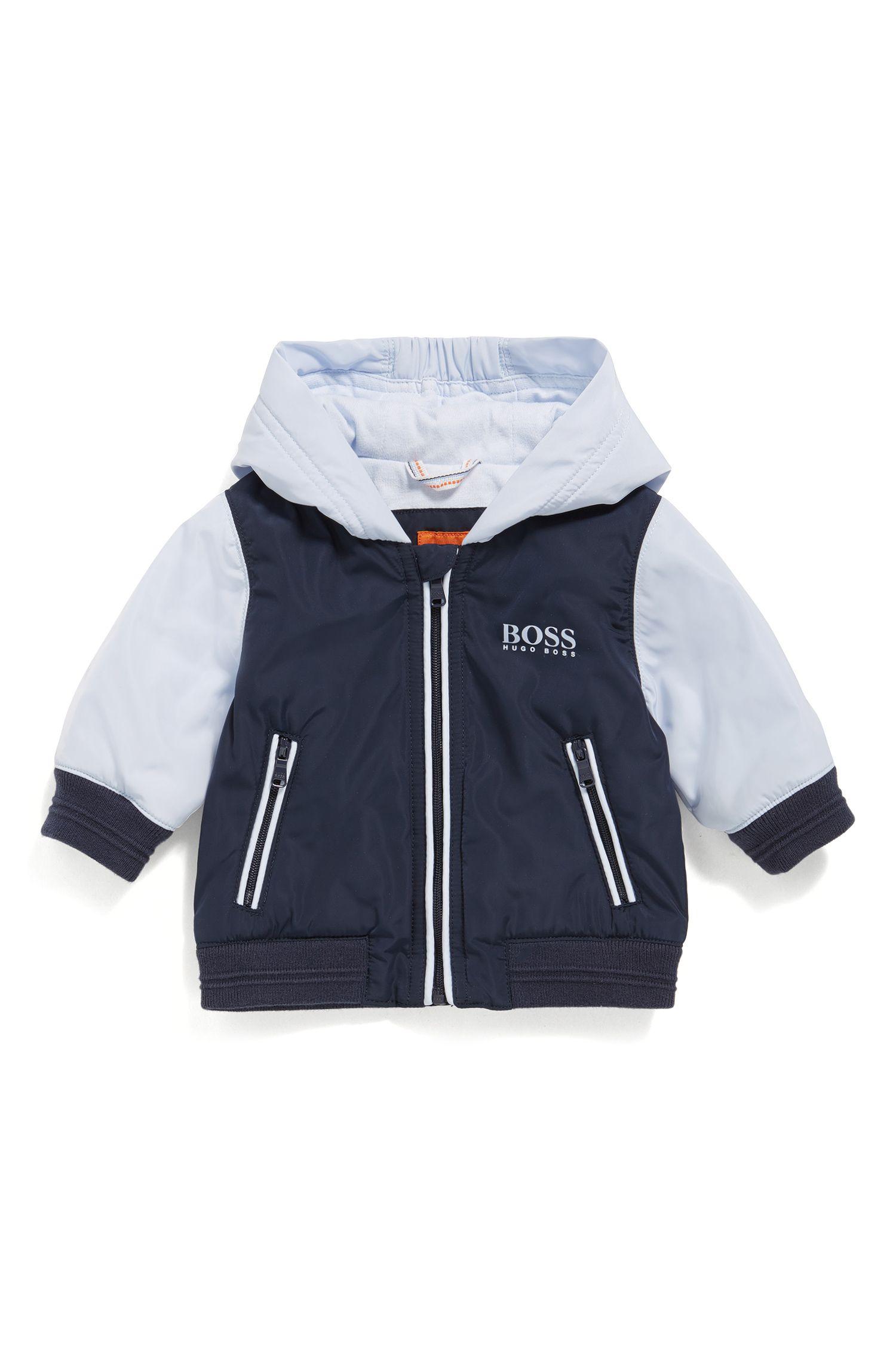 Giacca regular fit da neonato con fodera interna in jersey