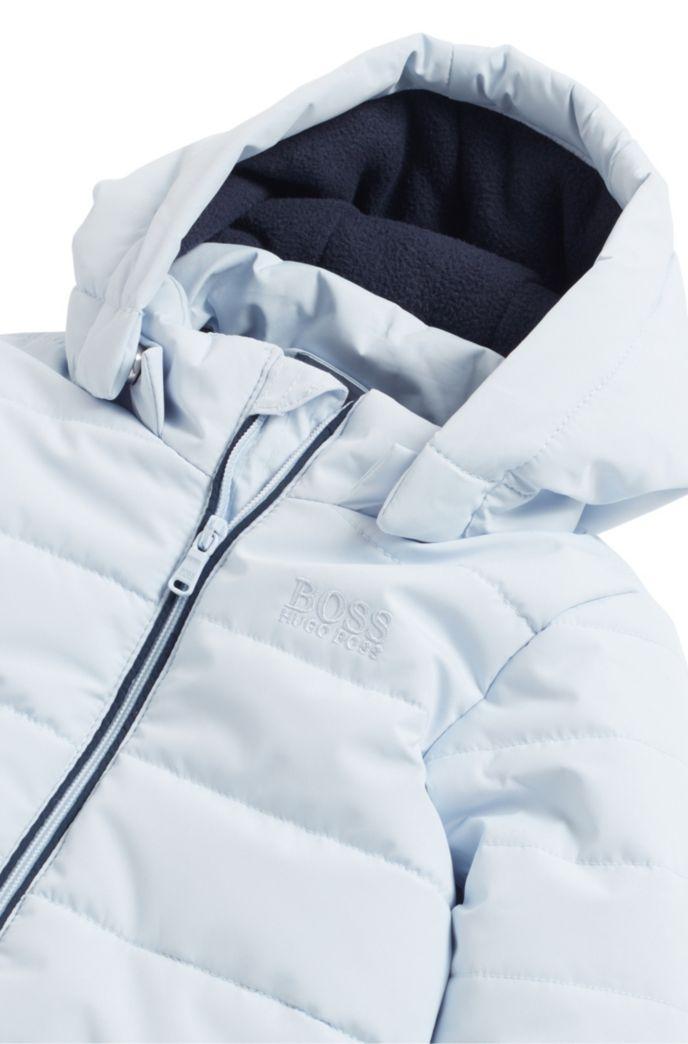Baby-Schneeanzug mit abnehmbaren Fäustlingen und Babyschuhen