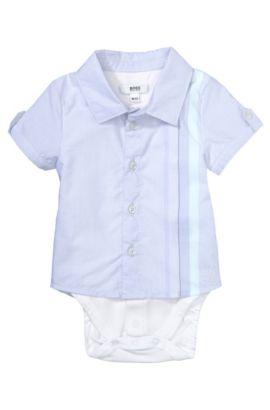 Kids-Hemd-Body ´J97080` aus Baumwolle, Flieder