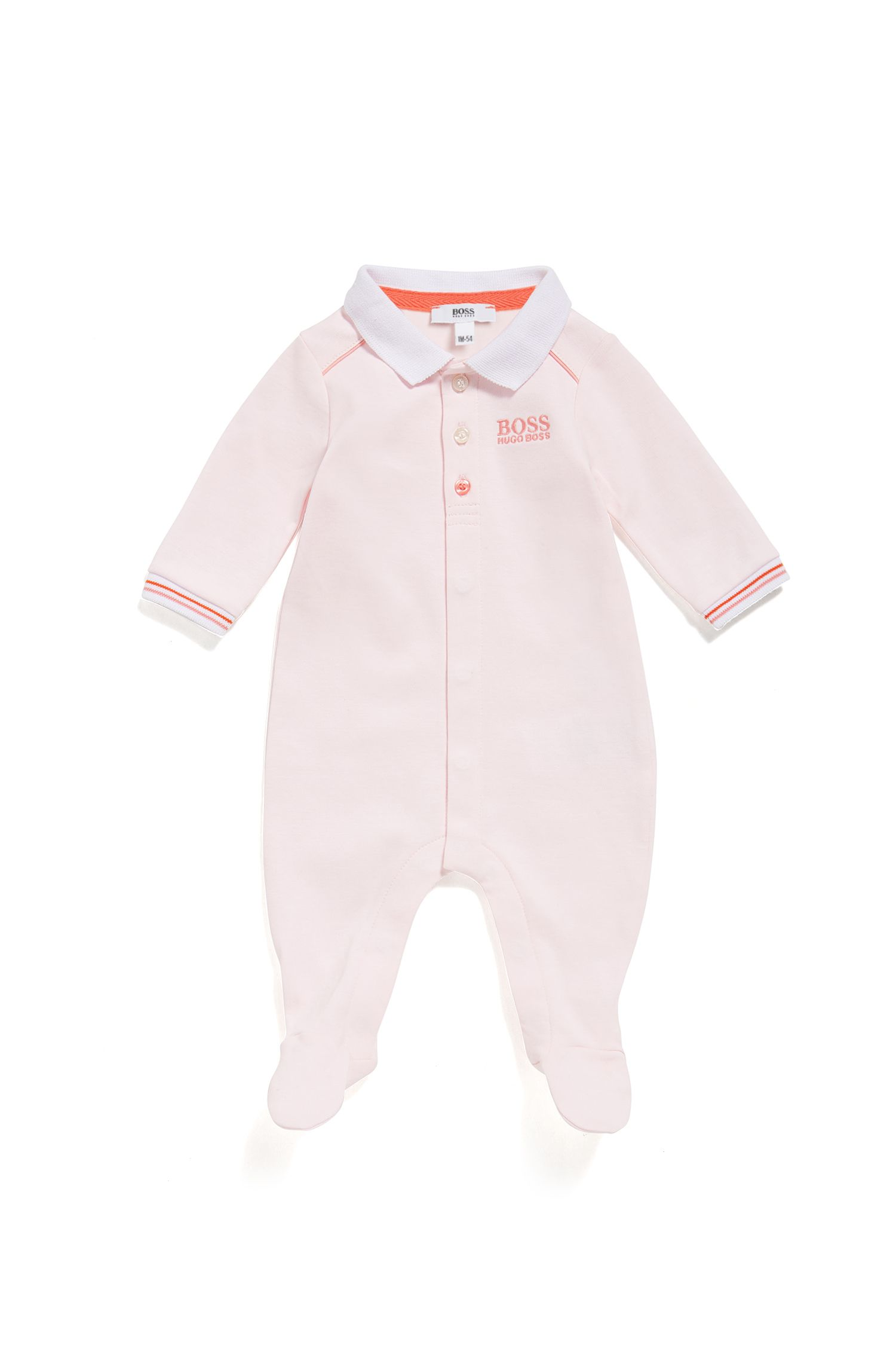 Baby regular-fit pyjamas in interlock cotton