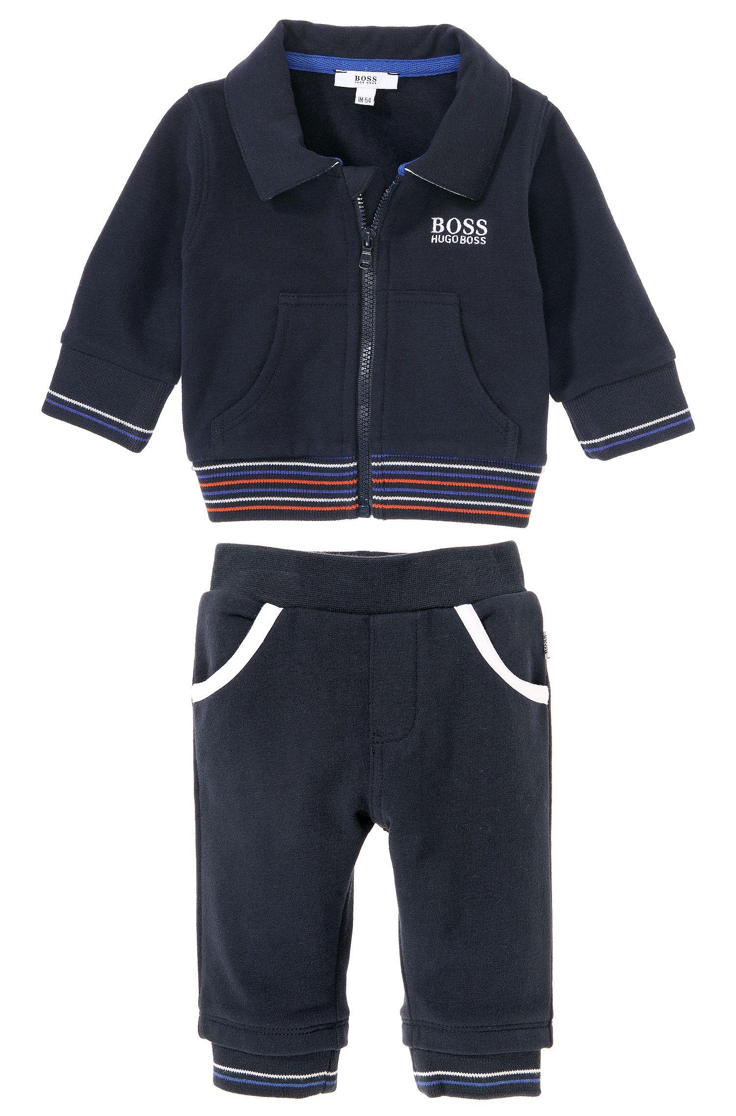 Pantalon de jogging pour enfant «J98109» en coton mélangé