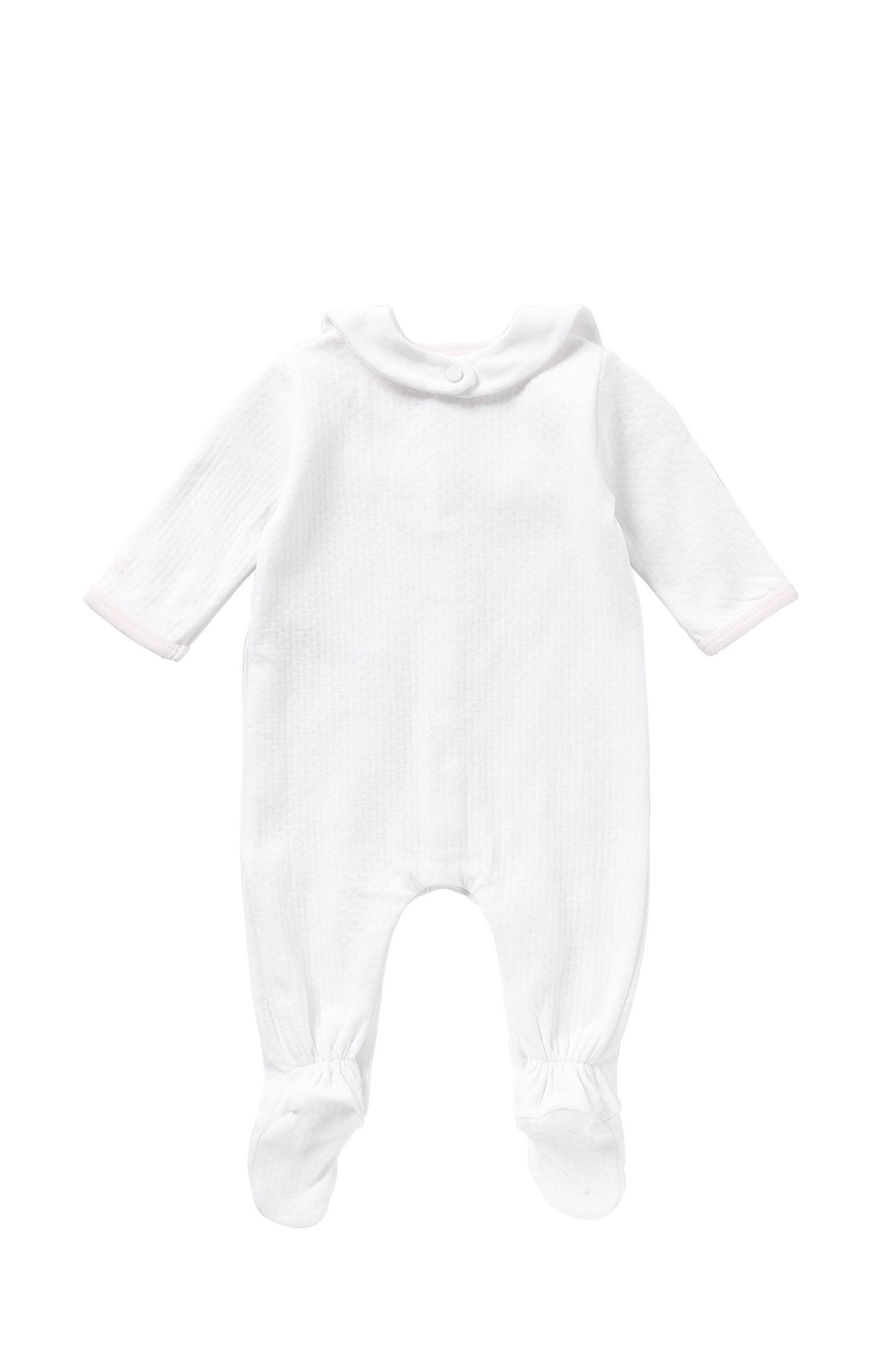 Newborns' set consisting of a bodysuit and bib: 'J98153'