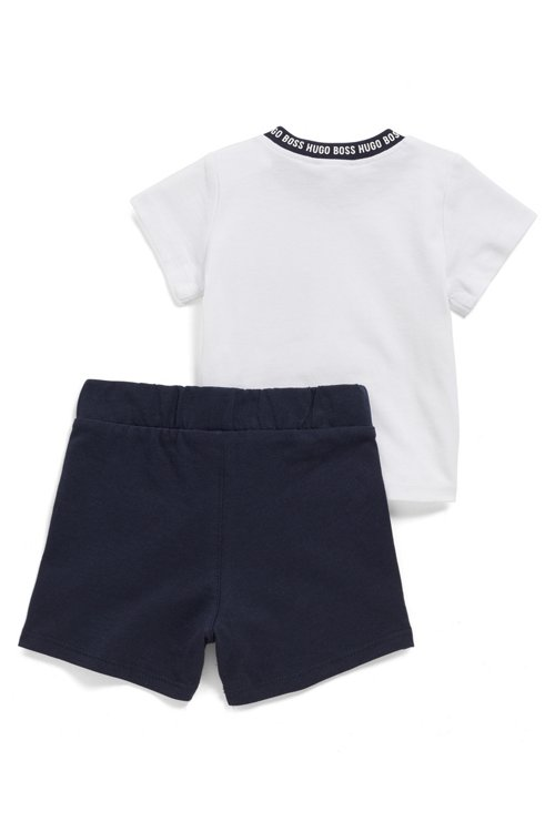 Hugo Boss - Set de regalo con camiseta y shorts de algodón para bebé - 2