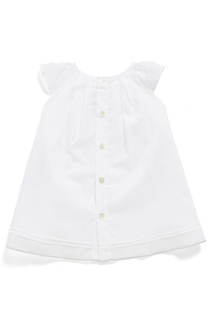 Vestido y pololos de algodón para bebé niña en caja de regalo
