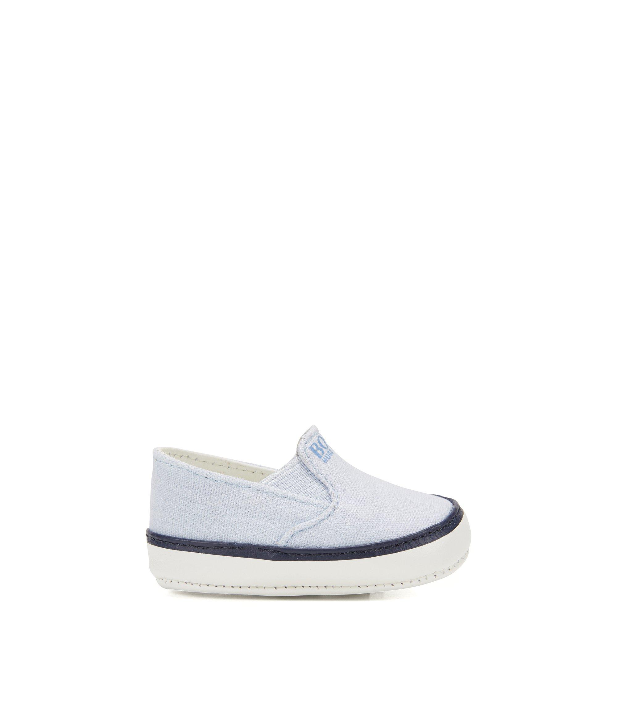 Zapatos para bebé con suela de piel: 'J99050', Celeste