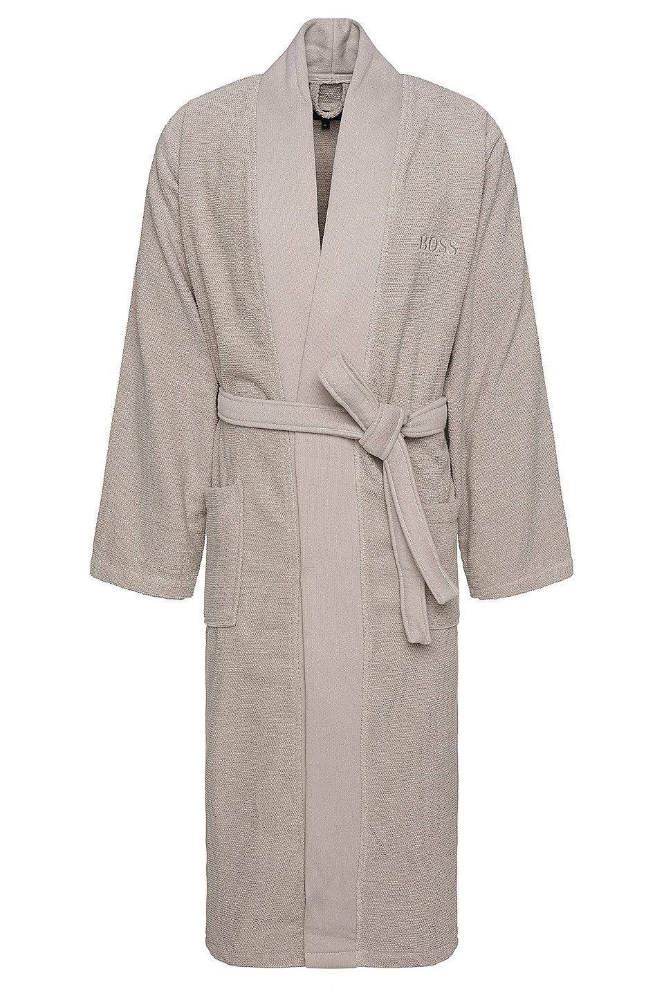 boss bademantel im kimono stil aus gek mmter g ischer. Black Bedroom Furniture Sets. Home Design Ideas