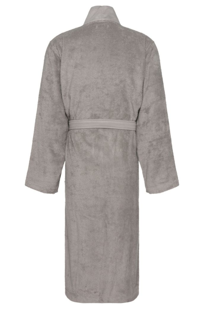 Unisex dressing gown in Egyptian cotton