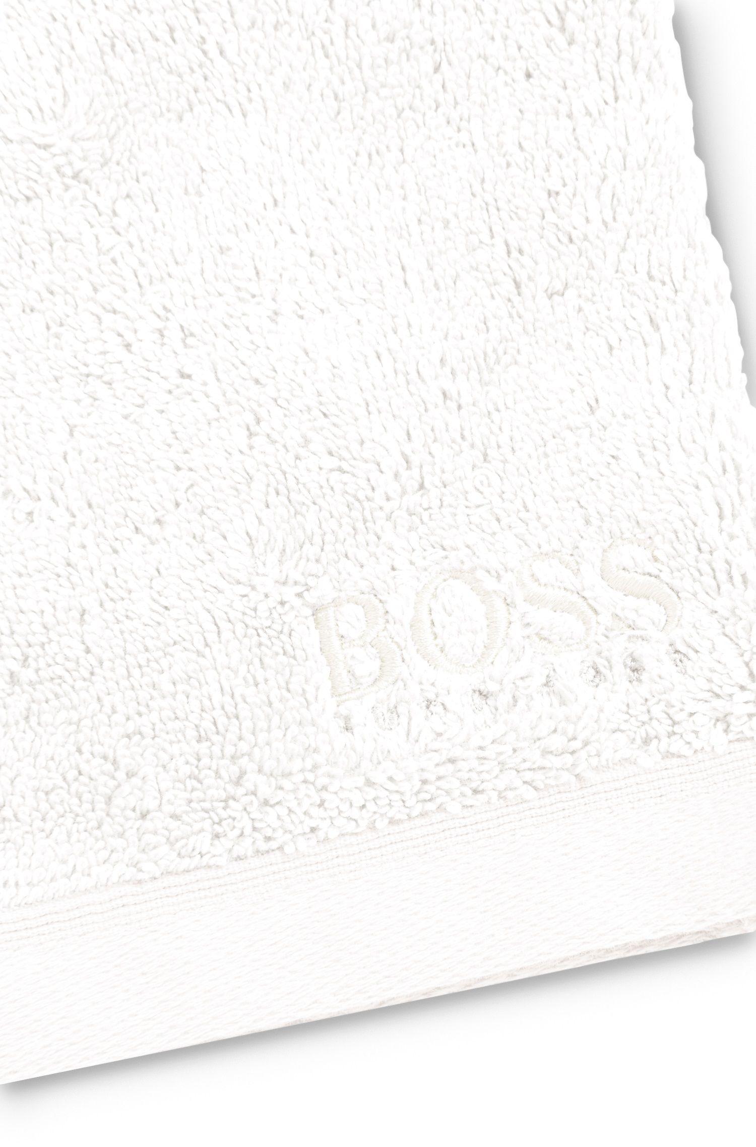 Manopla de baño en algodón peinado del Egeo