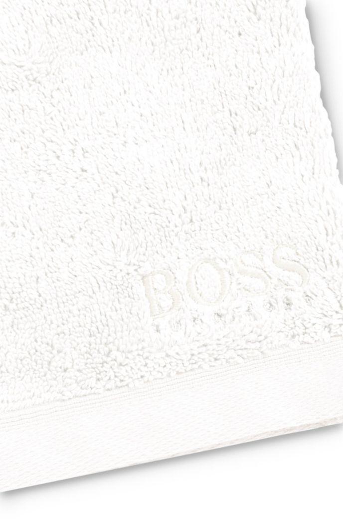 Waschhandschuh aus gekämmter ägäischer Baumwolle
