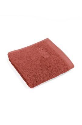 Waschlappen aus Baumwolle: 'LOFT Nude Wash towel', Dunkelorange